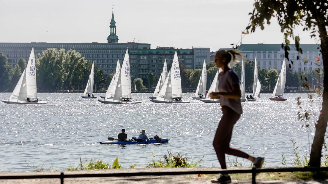 Joggen mit Maske? Deutsche Polizeigewerkschaft kritisiert Hamburger Senat für Corona-Aktionismus