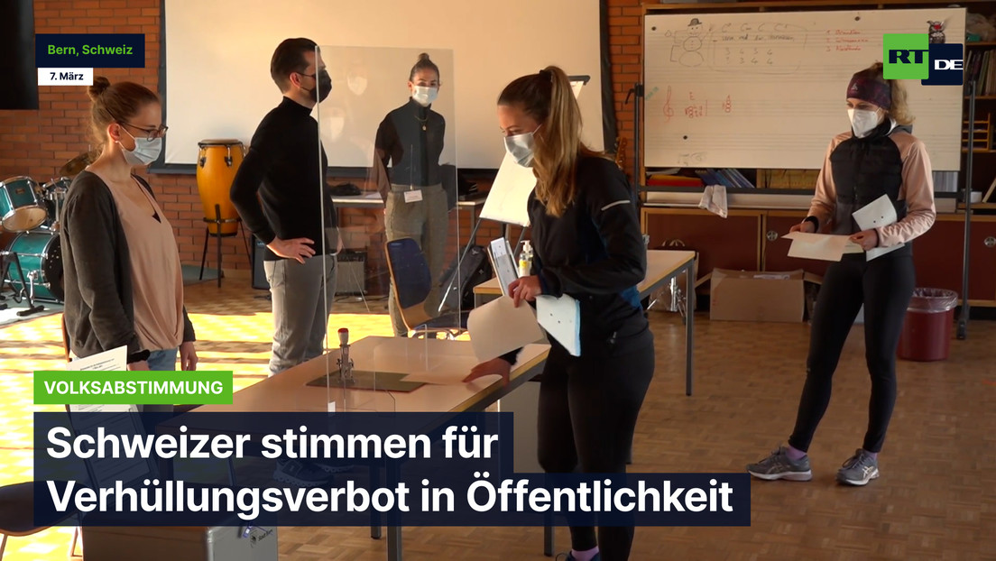 Schweizer stimmen für landesweites Verhüllungsverbot
