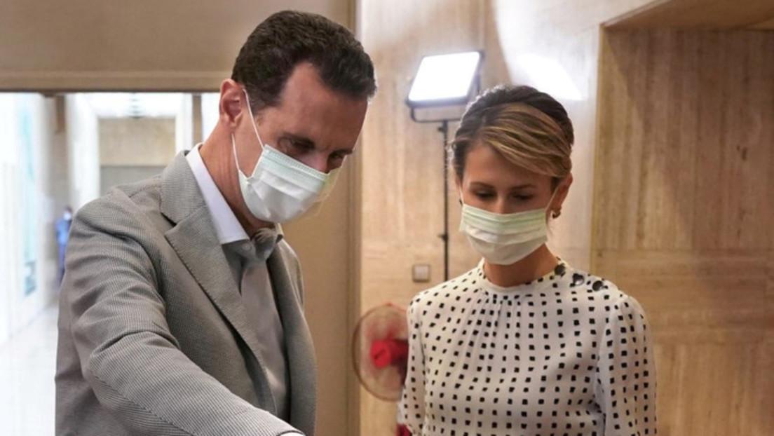 Syrien: Baschar al-Assad und seine Frau positiv auf Coronavirus getestet