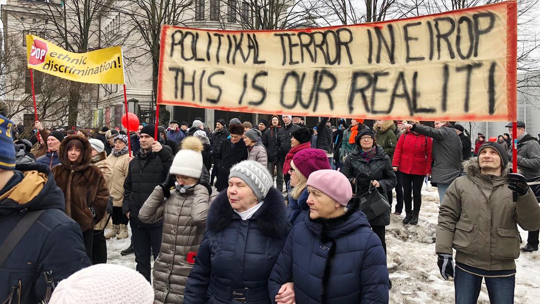 """Londons Kampagne zu politischer Assimilation baltischer Russen: """"Kreml-Narrative faktisch wahr"""""""