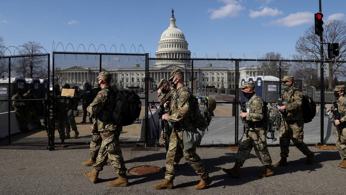 Pentagon: 2.300 Soldaten der Nationalgarde bleiben bis 23. Mai am Kapitol