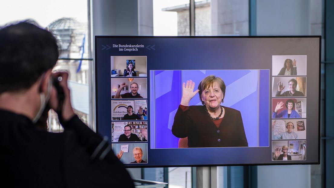Corona-Pandemie: Bundeskanzlerin Merkel erwartet noch schwere Monate