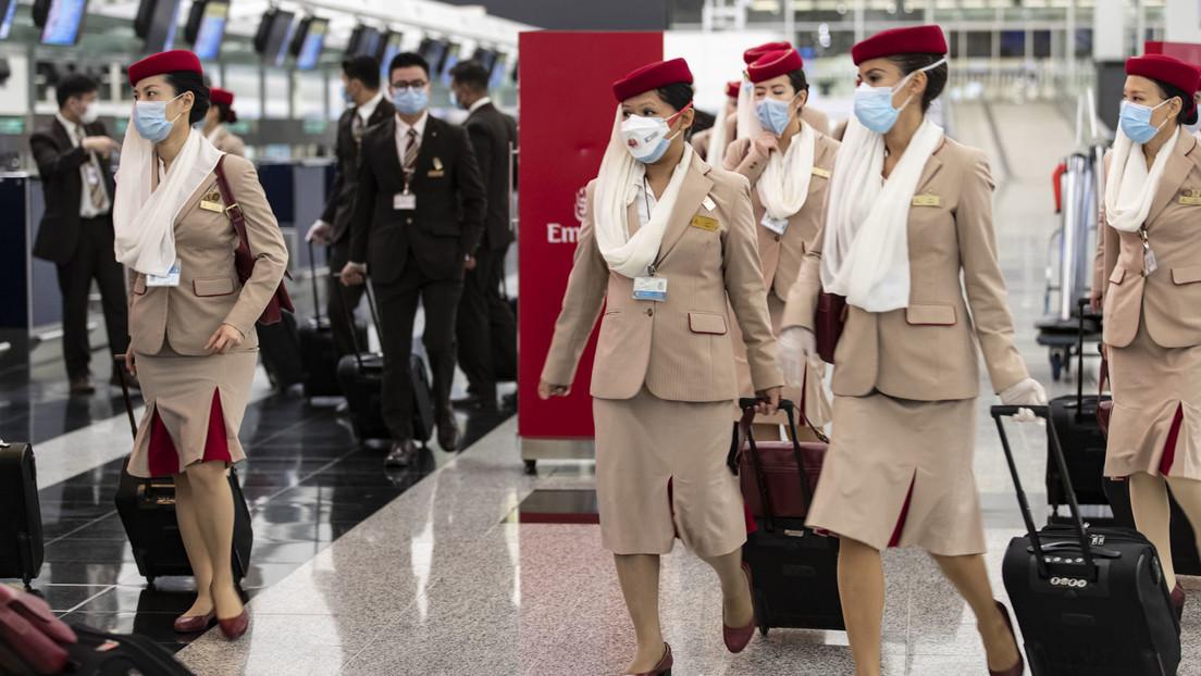 Fluggesellschaft Emirates fordert vom Kabinenpersonal: Impfen lassen oder Test selbst bezahlen