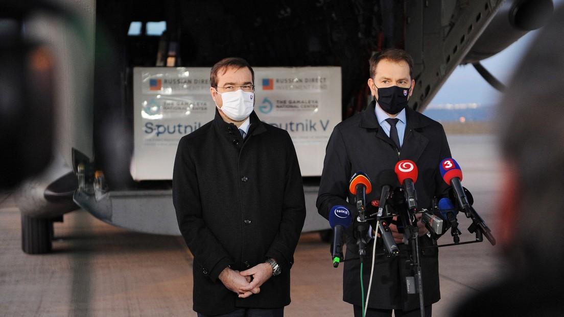 Wegen Uneinigkeiten über Sputnik V: Slowakischer Gesundheitsminister tritt zurück