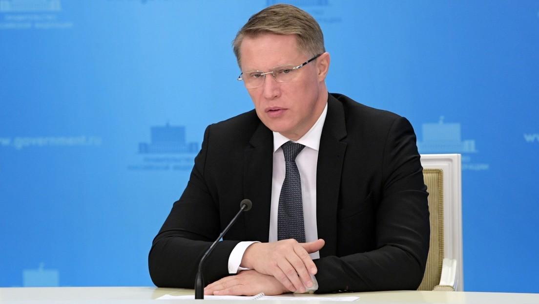 Russischer Gesundheitsminister: Sputnik V ist hochwirksam gegen britischen Coronavirus-Stamm