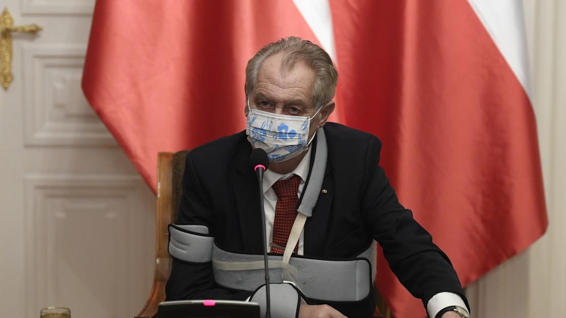 Tschechiens Präsident Zeman sucht Impfstoffe – und will Gesundheitsminister entlassen