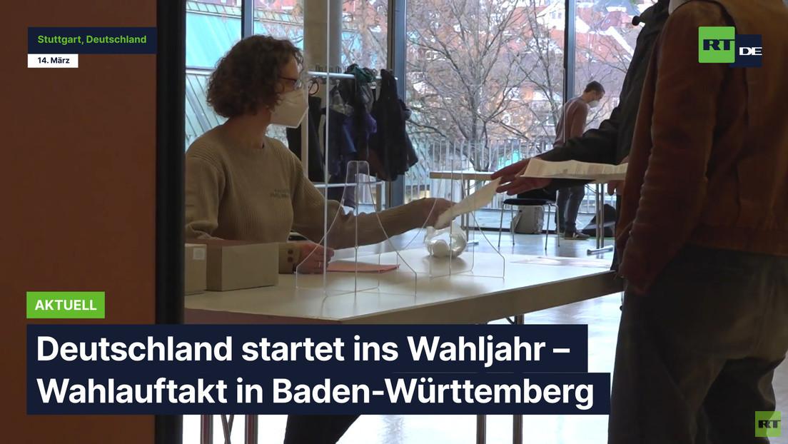 Deutschland startet ins Wahljahr – Wahlauftakt in Baden-Württemberg
