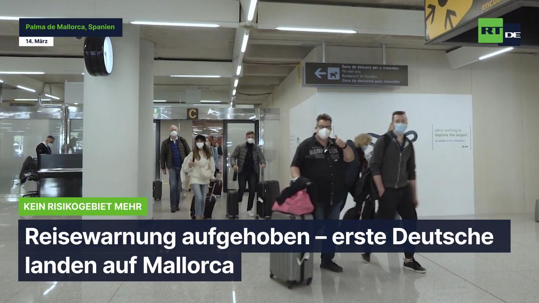 """Reisewarnung aufgehoben – erste Deutsche landen auf Mallorca: """"Wir sind so glücklich!"""""""