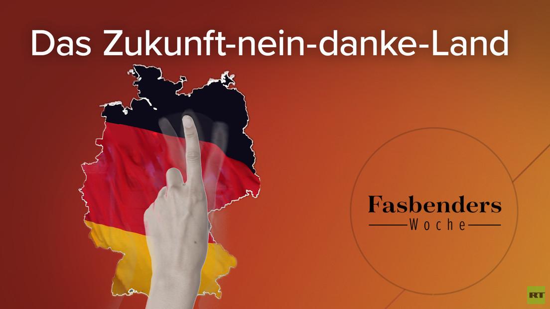 Fasbenders Woche: Das Zukunft-nein-danke-Land