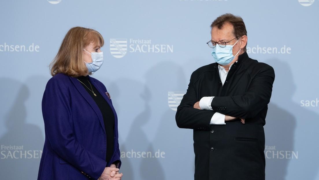 Sachsen stoppt Impfungen mit AstraZeneca und BioNTech und denkt über russischen Impfstoff nach