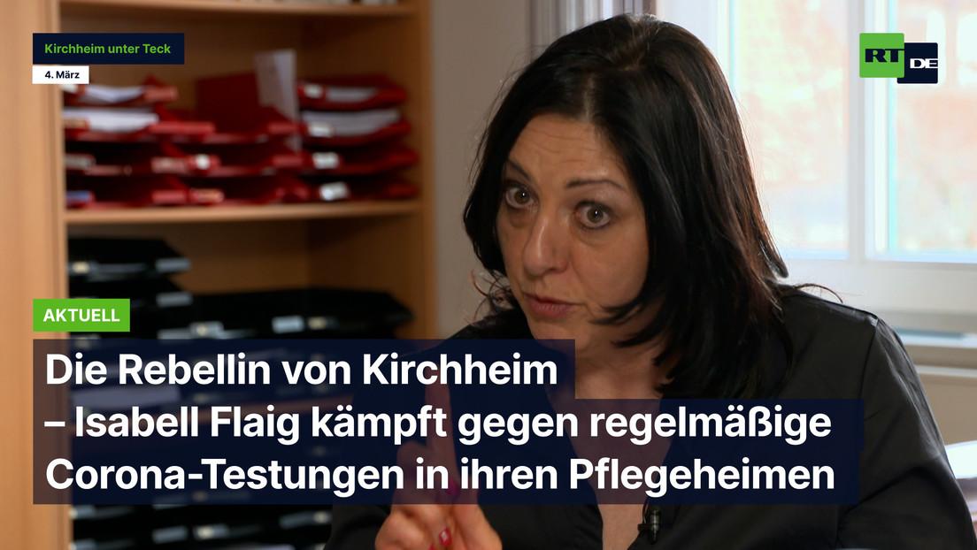 Rebellin von Kirchheim – Isabell Flaig kämpft gegen regelmäßige Corona-Tests in ihren Pflegeheimen
