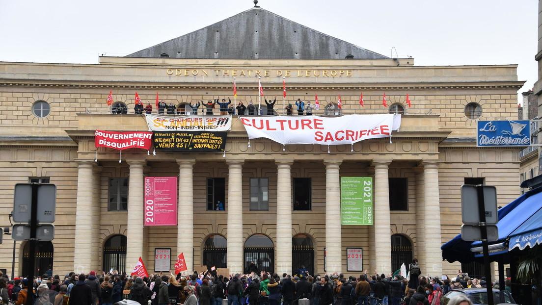 Kultur am Abgrund: Aktivisten in Frankreich besetzen über 40 Theater und protestieren gegen Lockdown