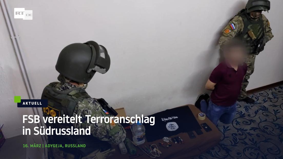 FSB vereitelt islamistischen Terroranschlag in Südrussland