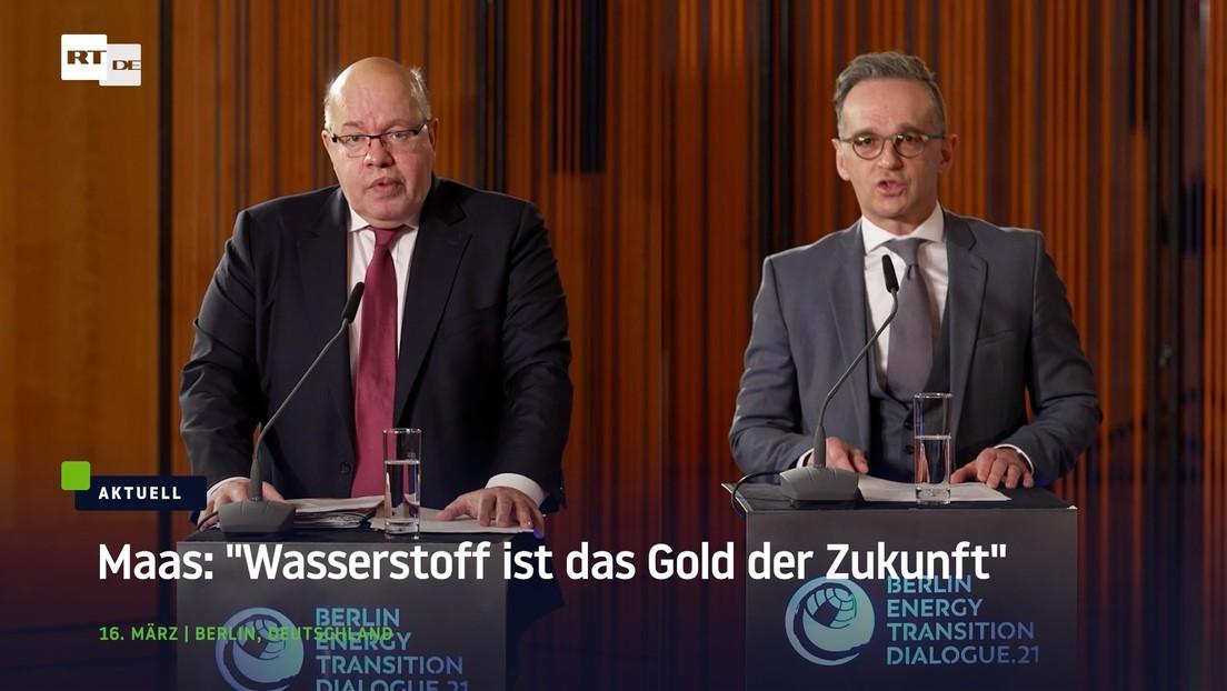 """Maas: """"Wasserstoff ist das Gold der Zukunft"""""""