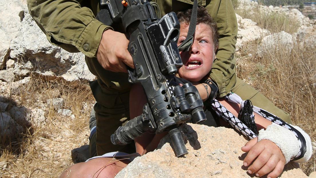 Erneut palästinensische Kinder vom israelischen Militär bedroht und festgenommen