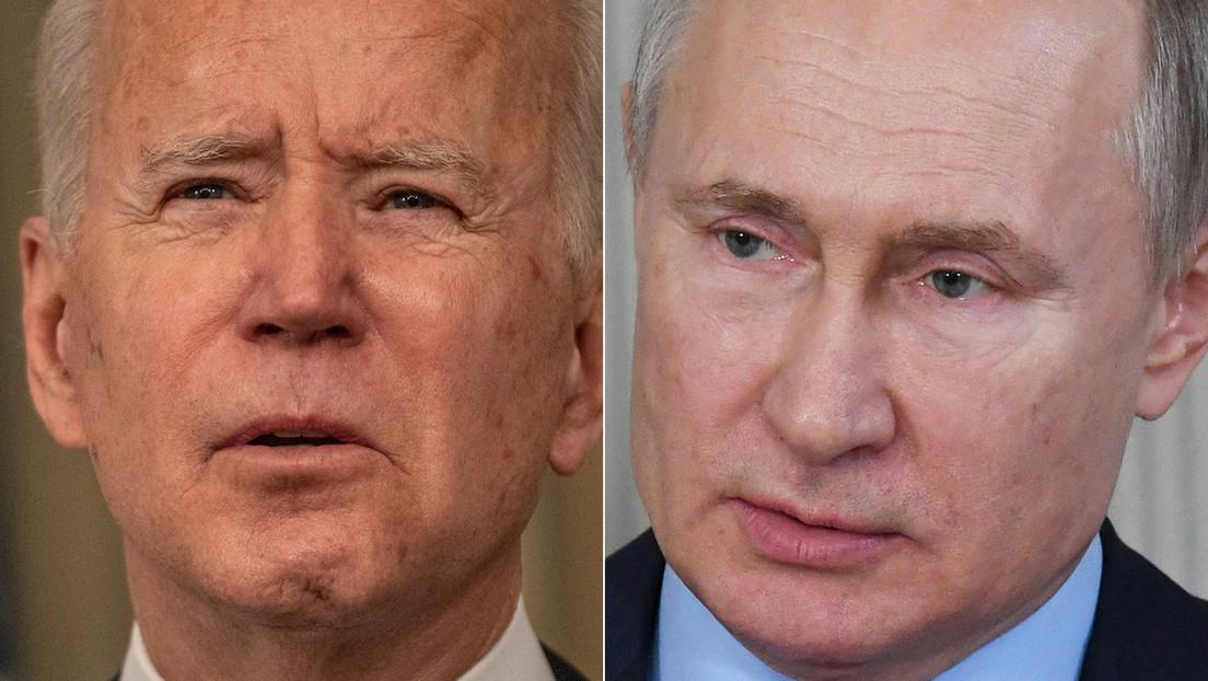 """Nach """"Killer""""-Äußerung: Putin lädt Biden zur Online-Diskussion ein"""