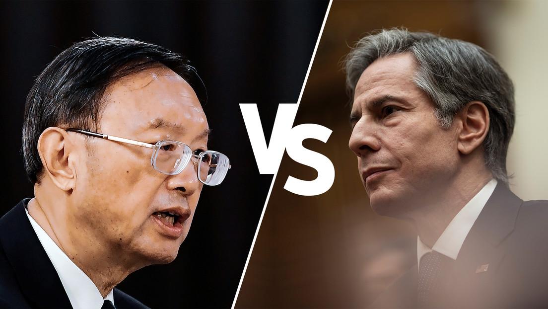 Undiplomatischer Schlagabtausch zwischen China und den USA beim Außenminister-Treffen