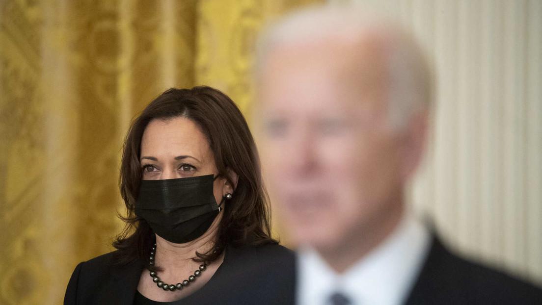 """Erneuter Lapsus: Biden nennt Vizepräsidentin Kamala Harris in einer Rede """"Präsidentin"""""""