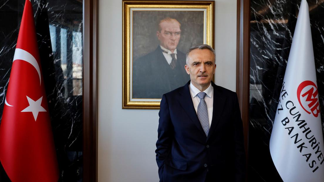 Erdoğan entlässt Zentralbankchef nach wenigen Monaten im Amt