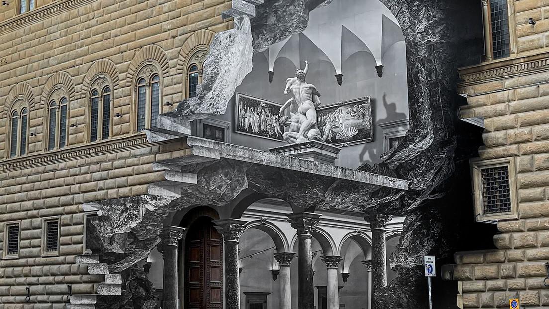 Die Wunde am Palazzo Strozzi