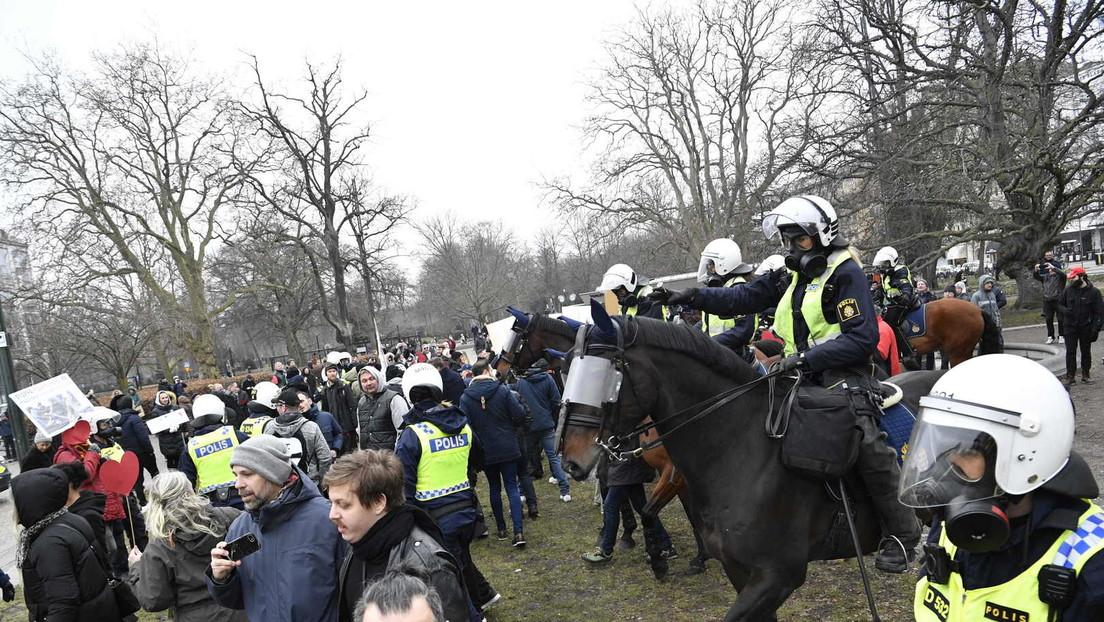 Wut ohne Lockdown: Proteste gegen Corona-Maßnahmen selbst in Schweden
