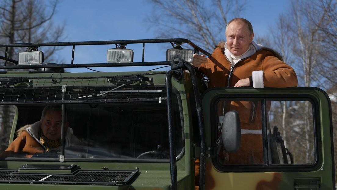 Nach Bidens Killer-Äußerung: Putin verbringt Wochenende mit seinem Verteidigungsminister in Sibirien