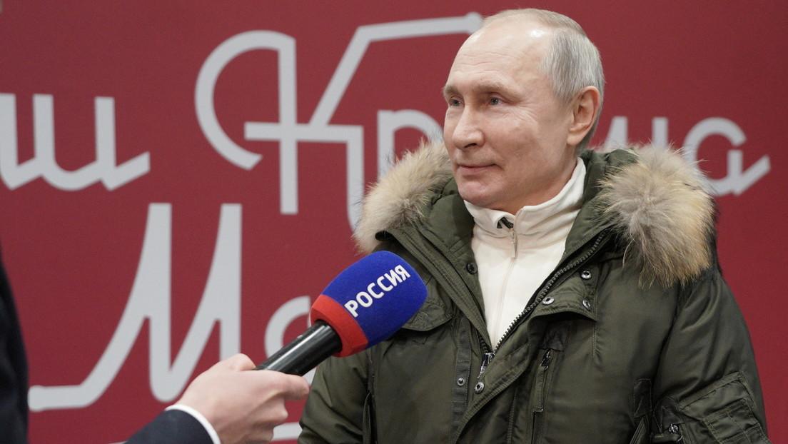 Putin: Ich werde mich am Dienstag gegen COVID-19 impfen lassen