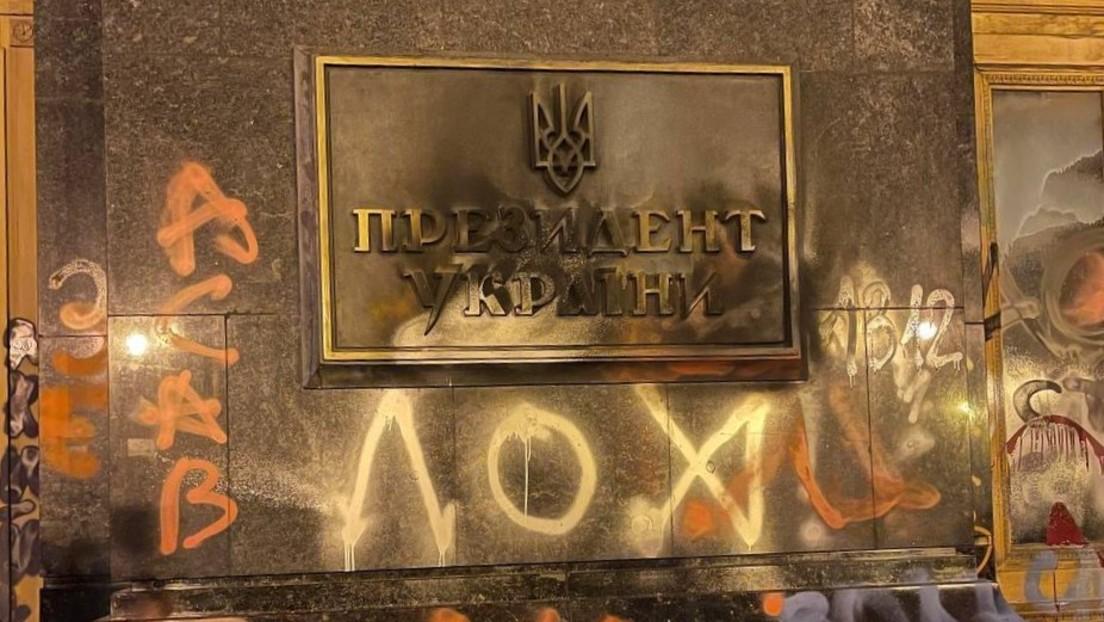 Schändung des Präsidentensitzes in Kiew: Ist die Ukraine ein gescheiterter Staat?