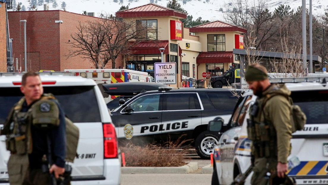 Supermarkt-Blutbad in den USA: Schütze tötet zehn Menschen im Bundesstaat Colorado