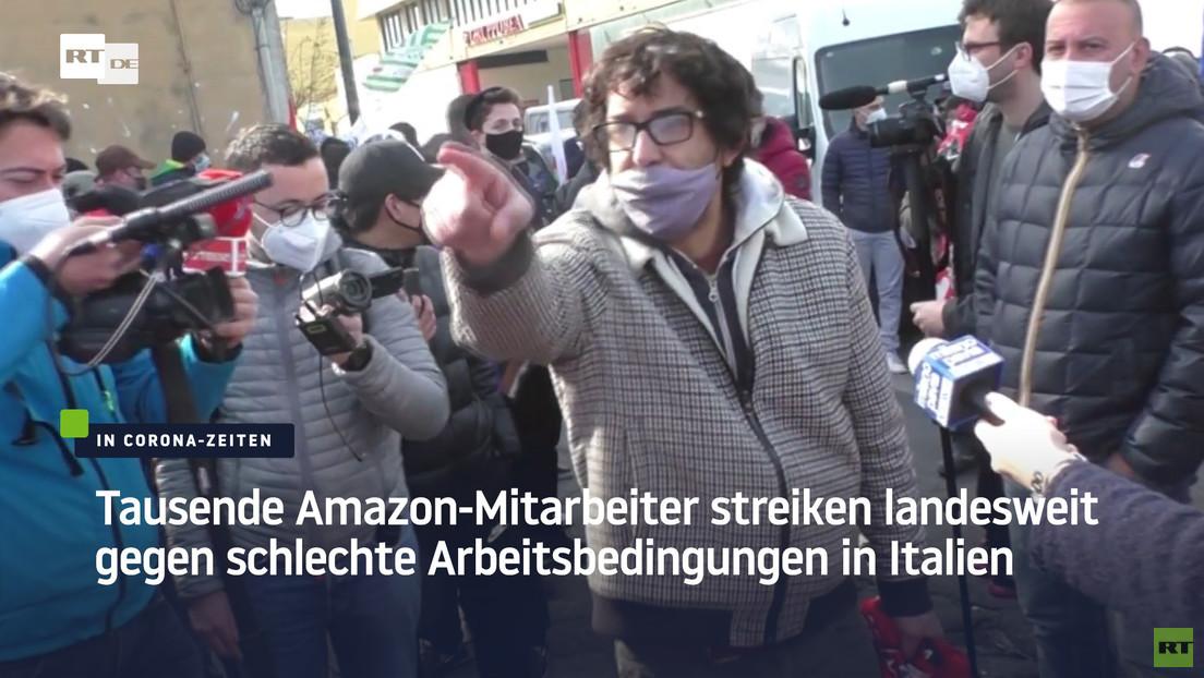 Amazon: Während des Lockdowns wurden wir an sechs Tagen pro Woche zur Arbeit aufgerufen