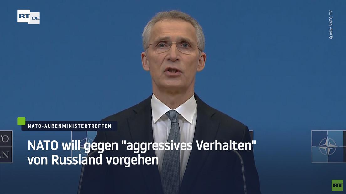"""NATO will gegen """"aggressives Verhalten"""" von Russland vorgehen"""