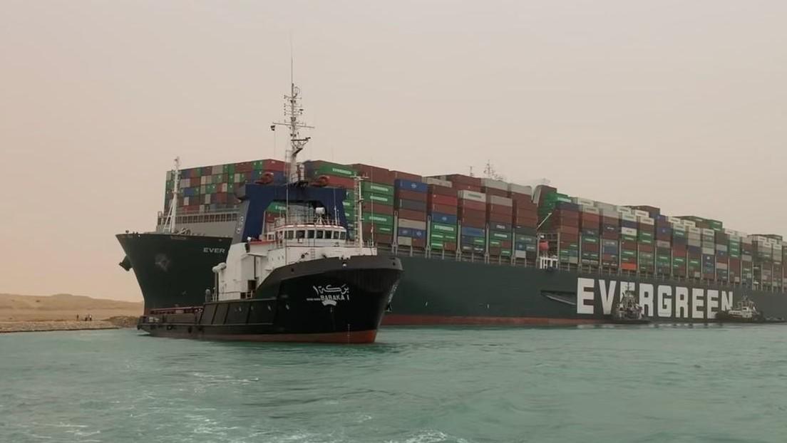 """Stau am Suezkanal """"könnte noch Wochen dauern"""" - Frachtverkehr steht still"""