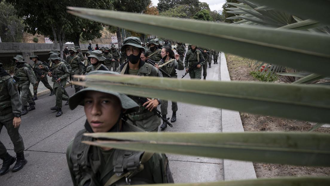 Gefechte an der Grenze zwischen Kolumbien und Venezuela
