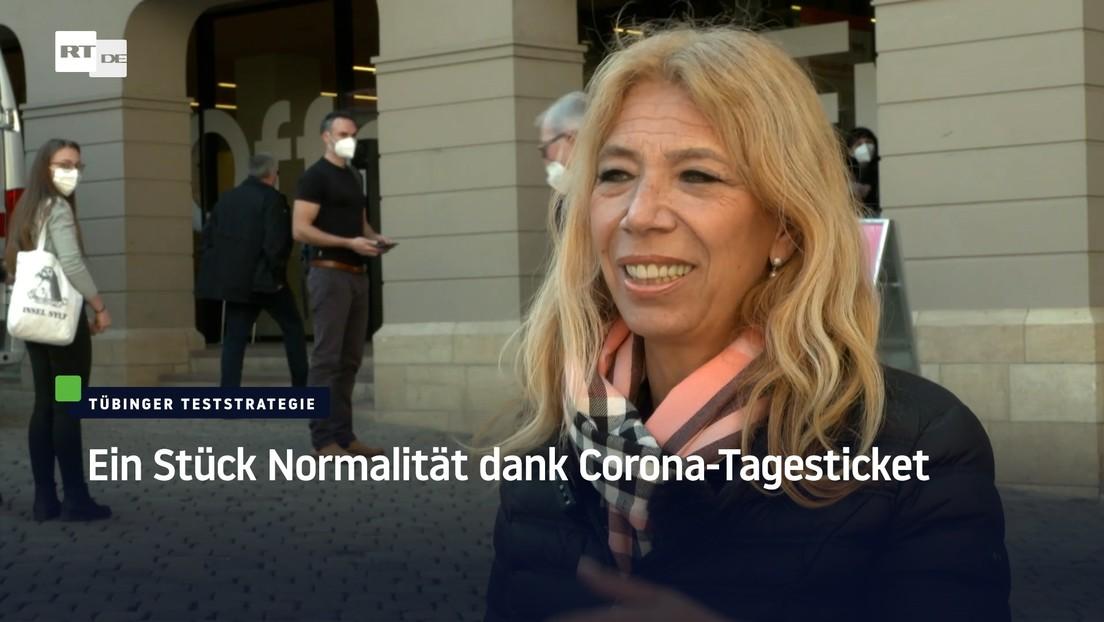 Tübingen: Ein Stück Normalität dank Corona-Tagesticket