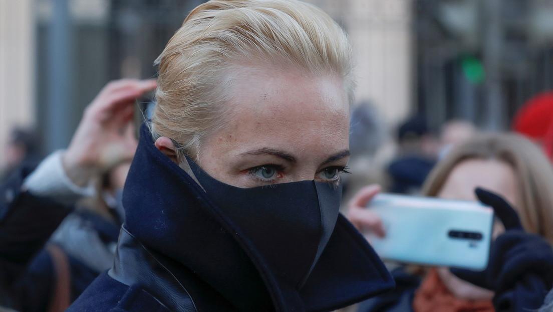 Medienbericht: Nawalnys Ehefrau Julia reist wieder nach Deutschland