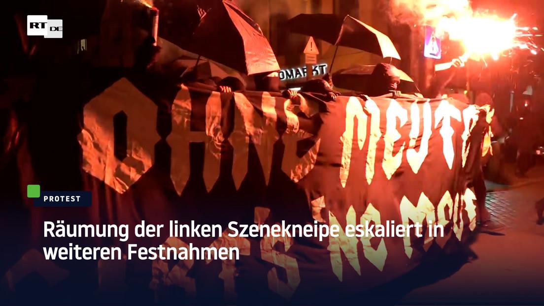 Berlin: Räumung der linken Szenekneipe eskaliert in weiteren Festnahmen