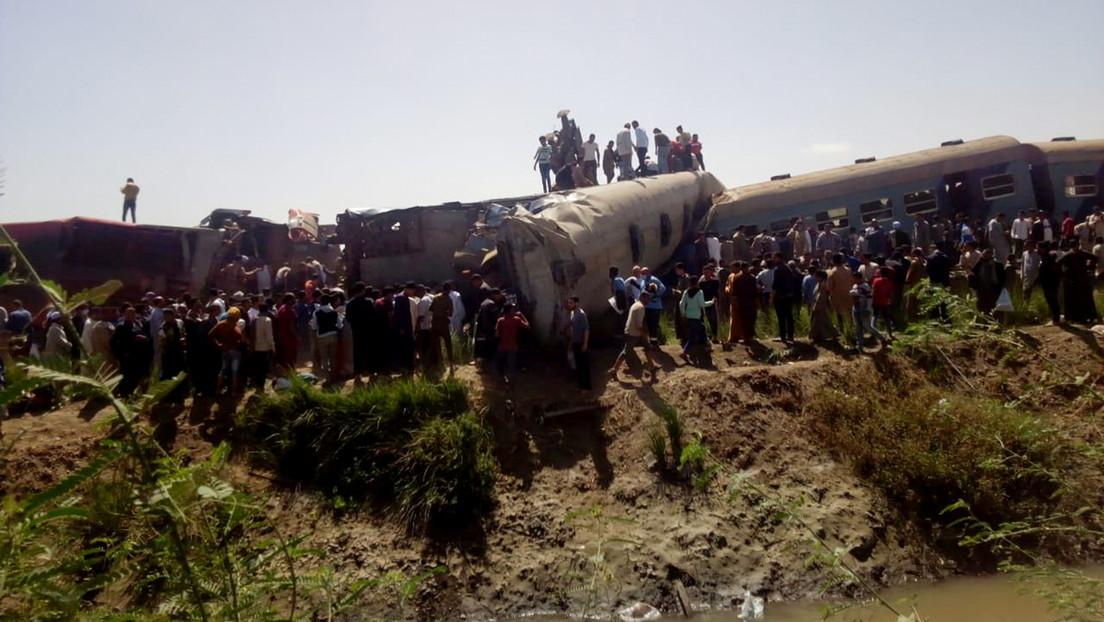 Zugunglück in Ägypten: Mindestens 32 Tote beim Zusammenstoß zweier Züge