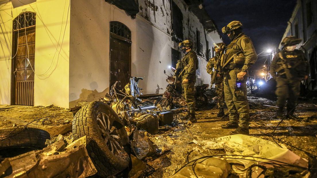 Mindestens 19 Verletzte bei Explosion von Autobombe in Kolumbien