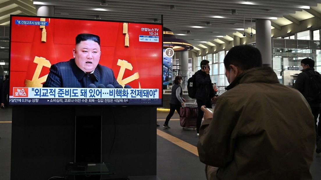 """Recht auf Selbstverteidigung"": Nordkorea hält Joe Bidens Kritik an Raketentest für Provokation"