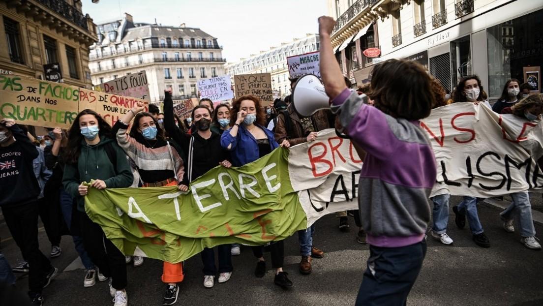 LIVE: Demonstration in Paris für nachhaltiges Klimagesetz