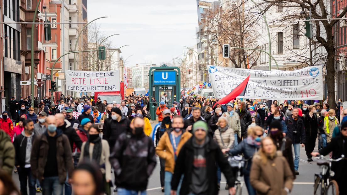Demonstrationen gegen Coronamaßnahmen in Berlin – Protest jährt sich zum ersten Mal