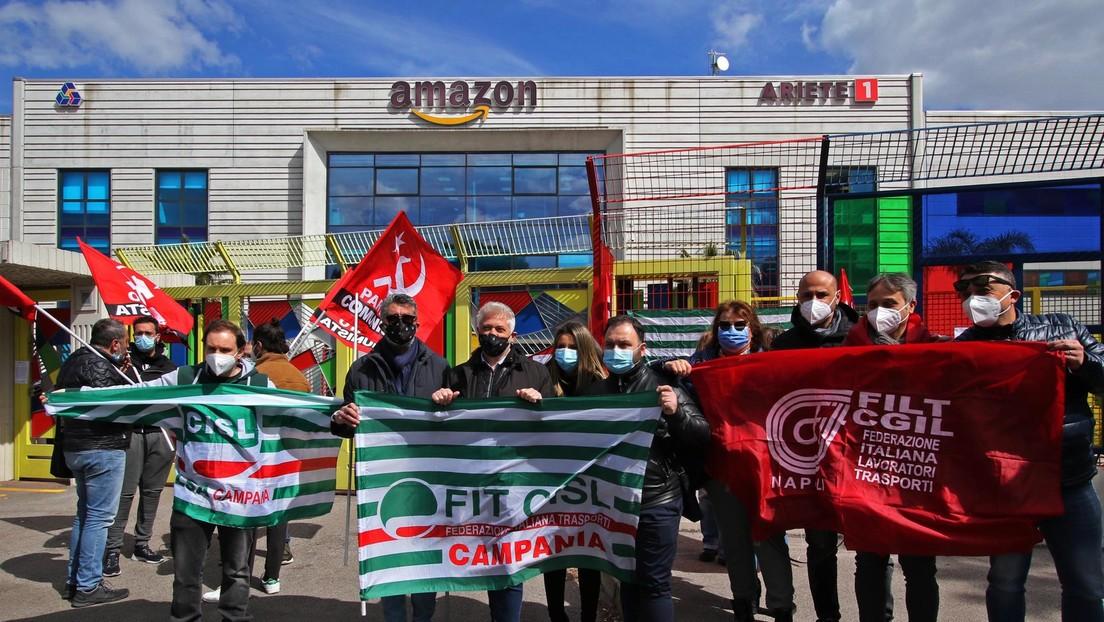 Verdi ruft an Amazon-Standorten zu viertägigem Streik vor Ostern auf