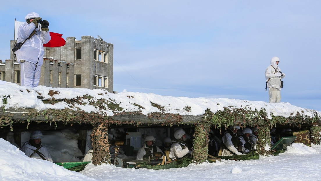Russland baute seit 2013 fast 800 Militärgebäude in der Arktis