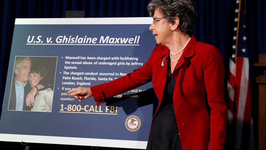 """Fall Epstein: Anklage gegen Ghislaine Maxwell um """"Sexhandel"""" erweitert"""