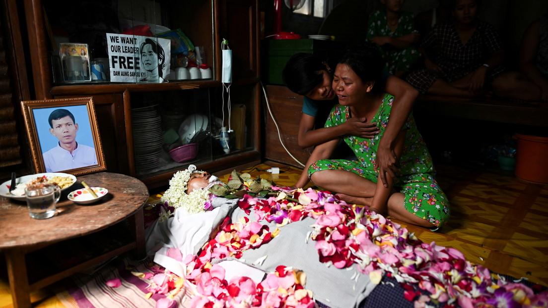 """Kreml """"besorgt"""" über steigende Zahl ziviler Opfer in Burma"""