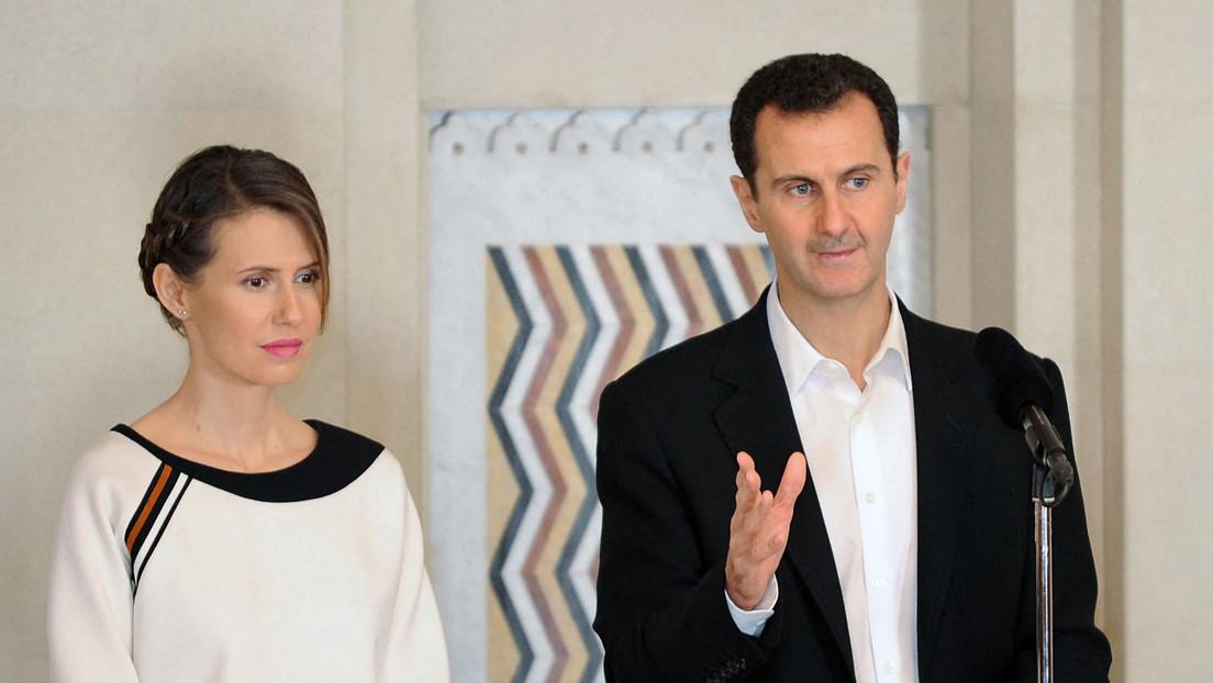Syrien: Präsident Assad und seine Frau erholen sich von Corona-Infektion