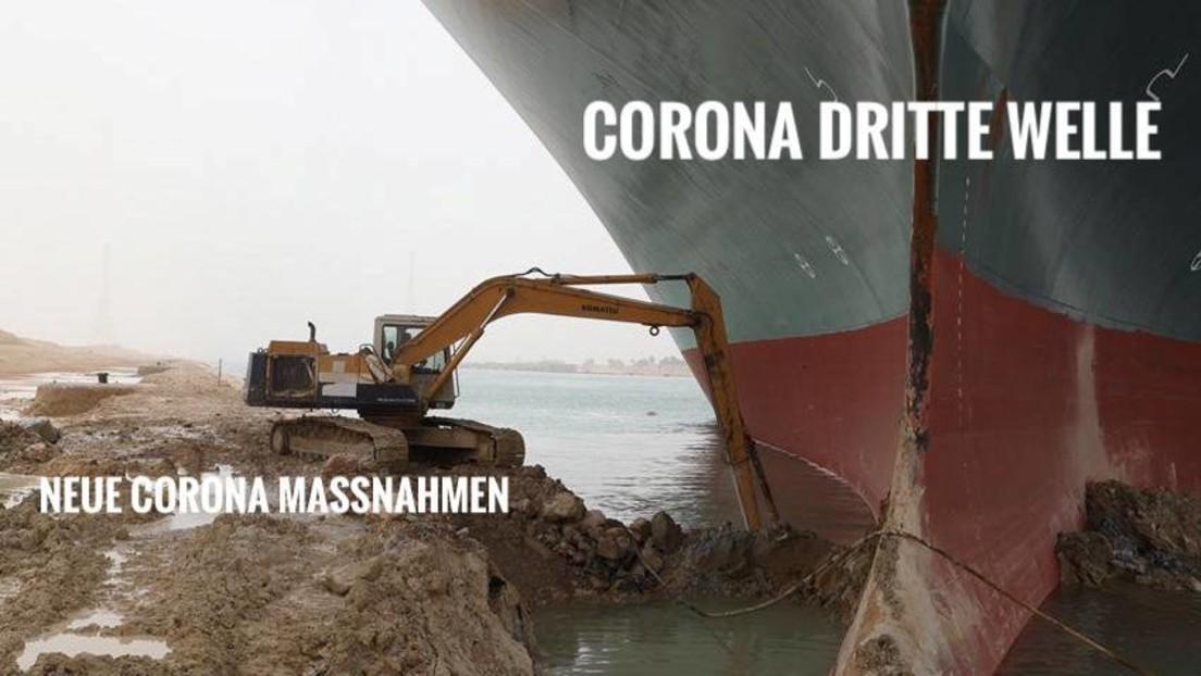 Blockade des Suezkanals: Die Memes zum Frachtschiff