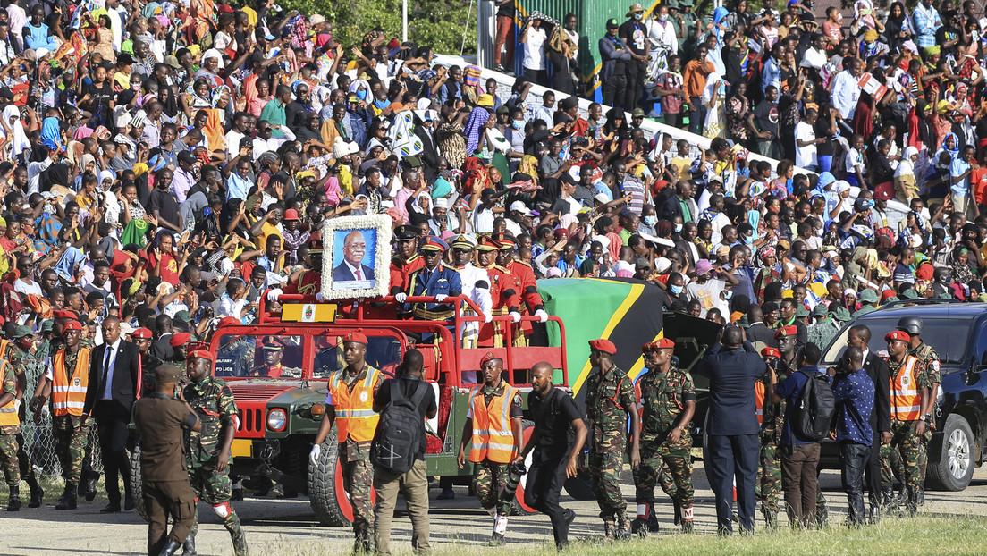 Tansania: 45 Tote durch Gedränge bei Abschiedszeremonie für Präsident Magufuli
