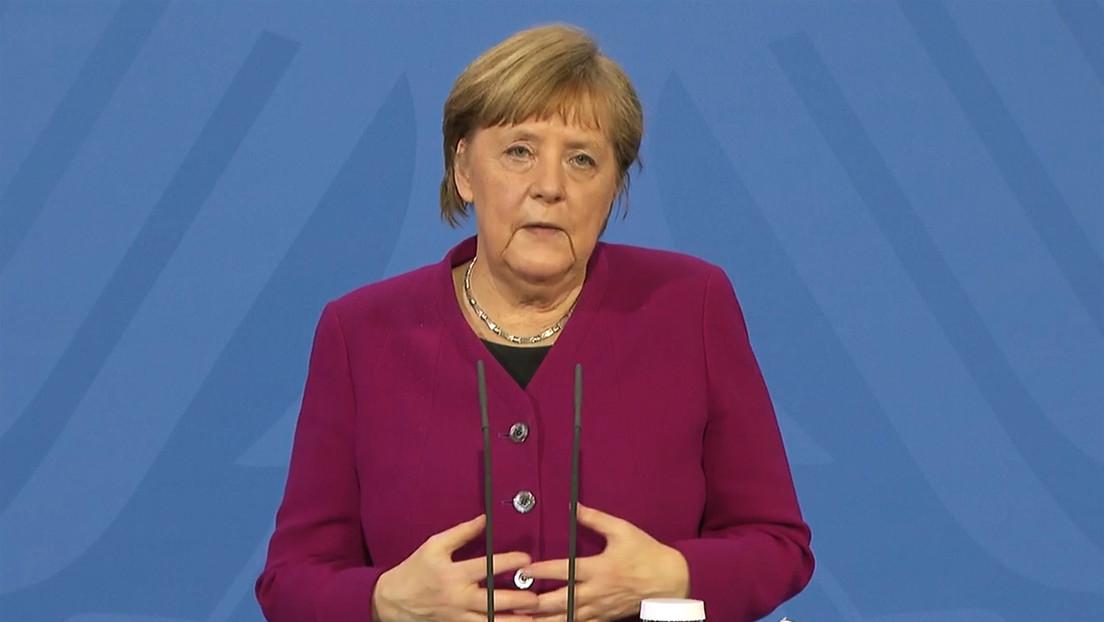 Merkel nach Impf-Treffen: AstraZeneca in der Regel nur noch für Menschen ab 60 Jahre einsetzen