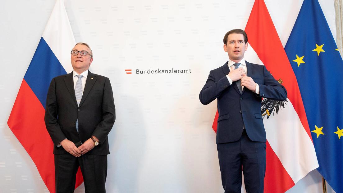 """Österreichischer Bundeskanzler Kurz: """"Auf den letzten Metern bei Beschaffung von Sputnik"""""""